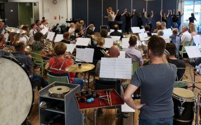 Klaar voor groots concert in Schouwburg Orpheus